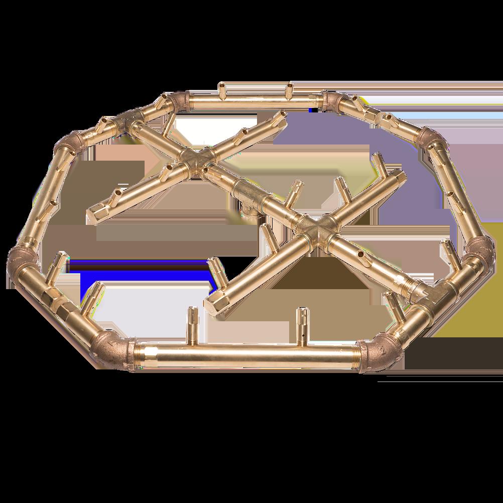 Octagonal Croft Fireplace
