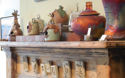 Decorate Your Fireplace Mantel for Spring